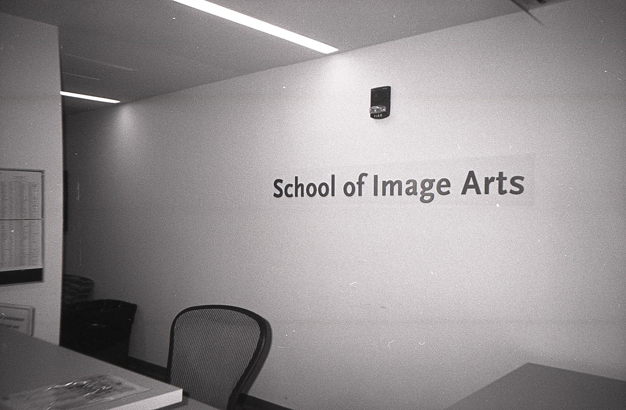 Ryerson School of Image Arts Front Desk - Kodak Tri-X 400