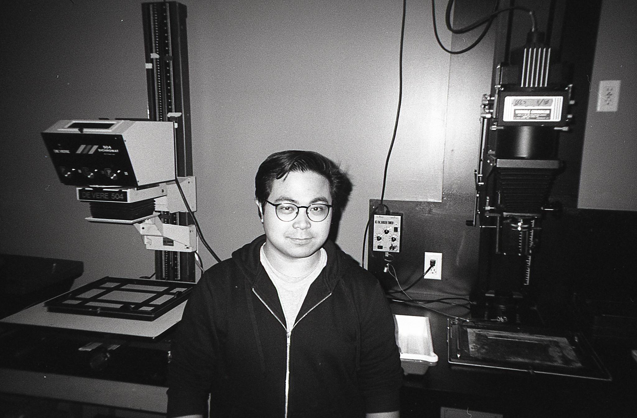 Me captured by Hongen - Kodak Tri-X 400