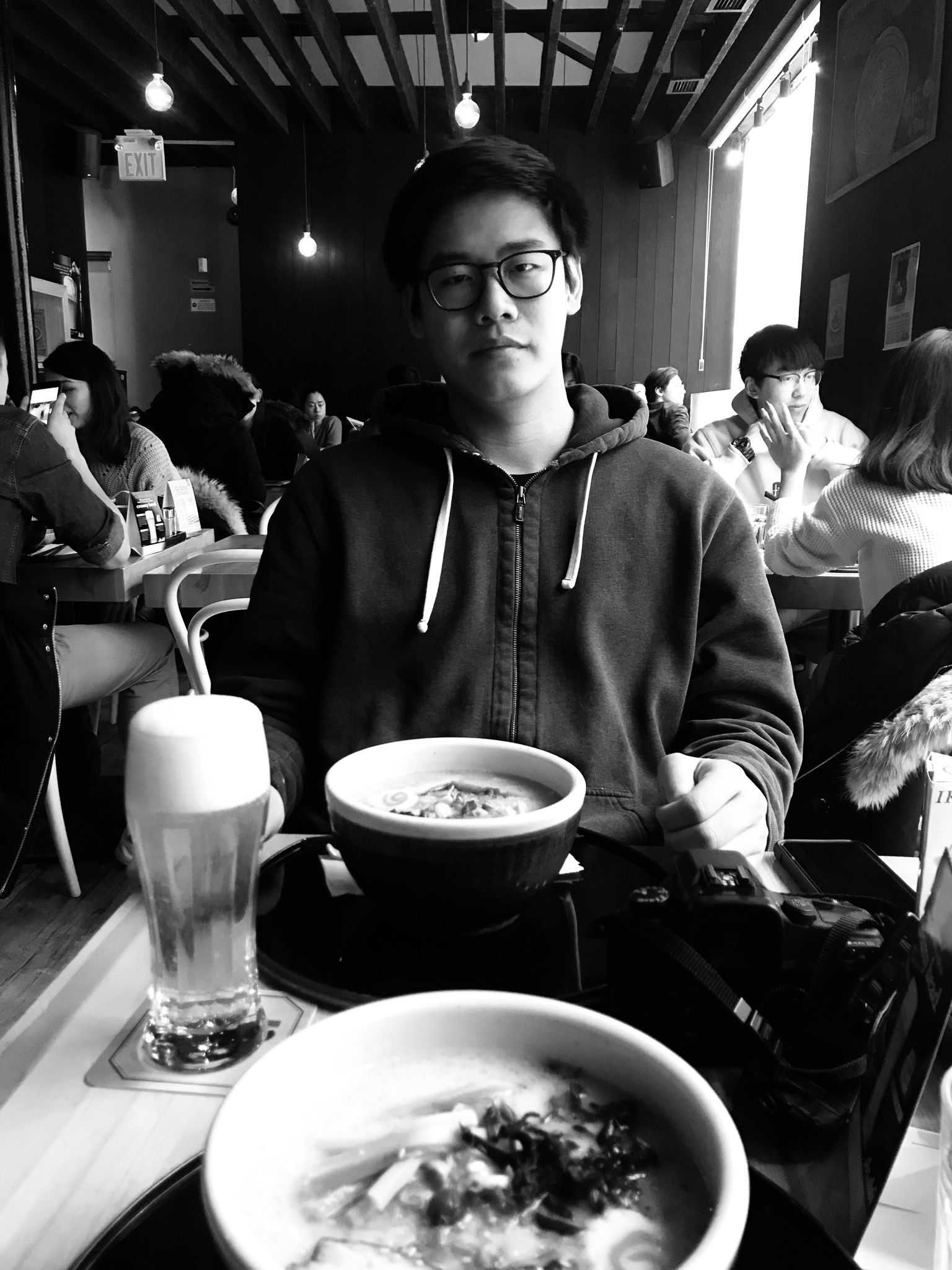 Ramen is the perfect thing to grab while waiting