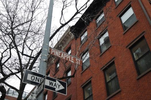 Pineapple Street Brooklyn Heights