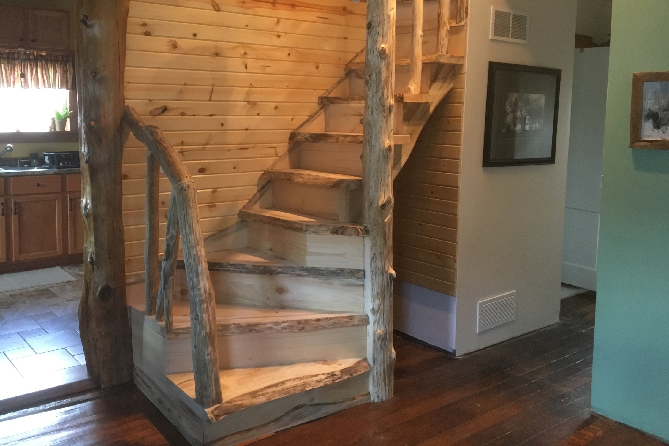 Timber / Timber Staircase