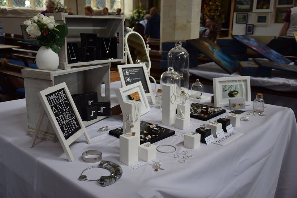 Display at Art & Craft Fair in St. Mary's Church, Hitchin
