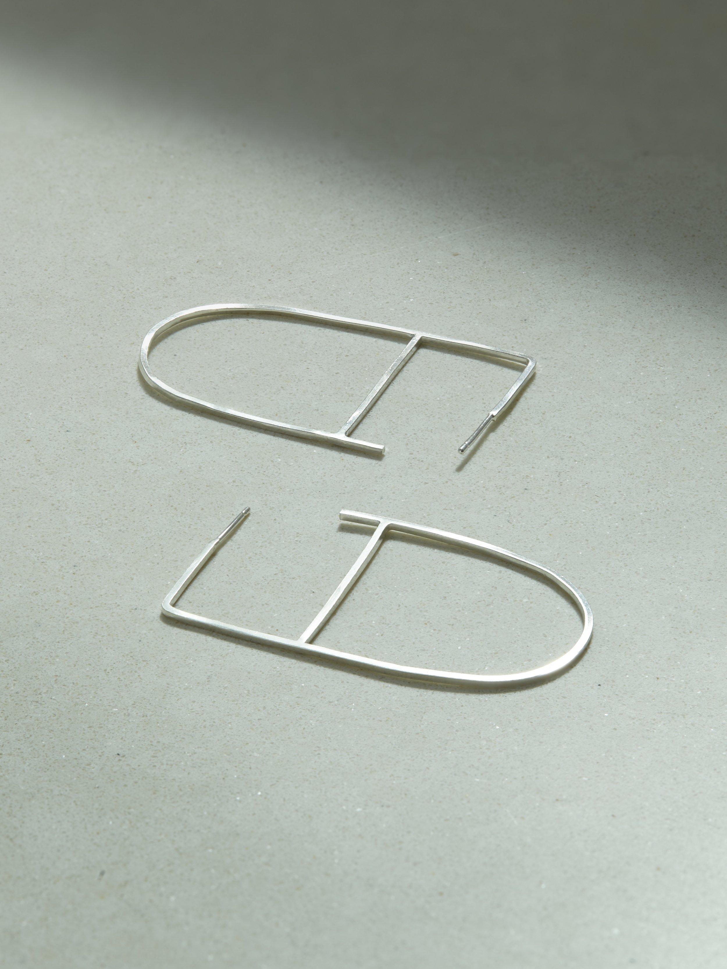 D Bar Earrings £45