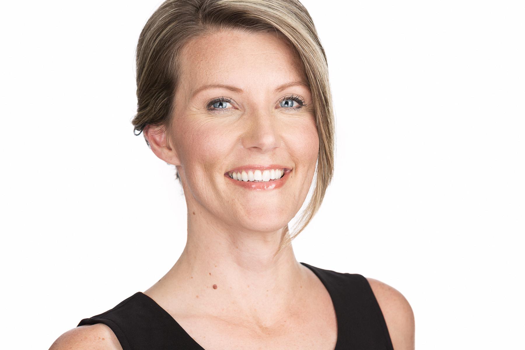 Business Headshots Boise Idaho, Anna Headshot on White