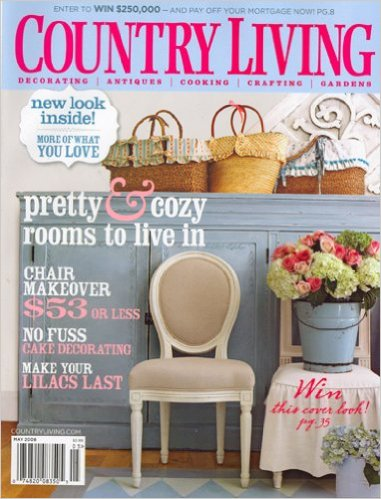 Leonards made it into this May 2008 edition of Country Living.
