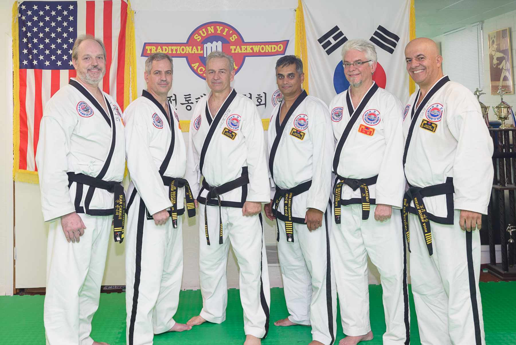 Sun Yi's Instructors, North Carolina