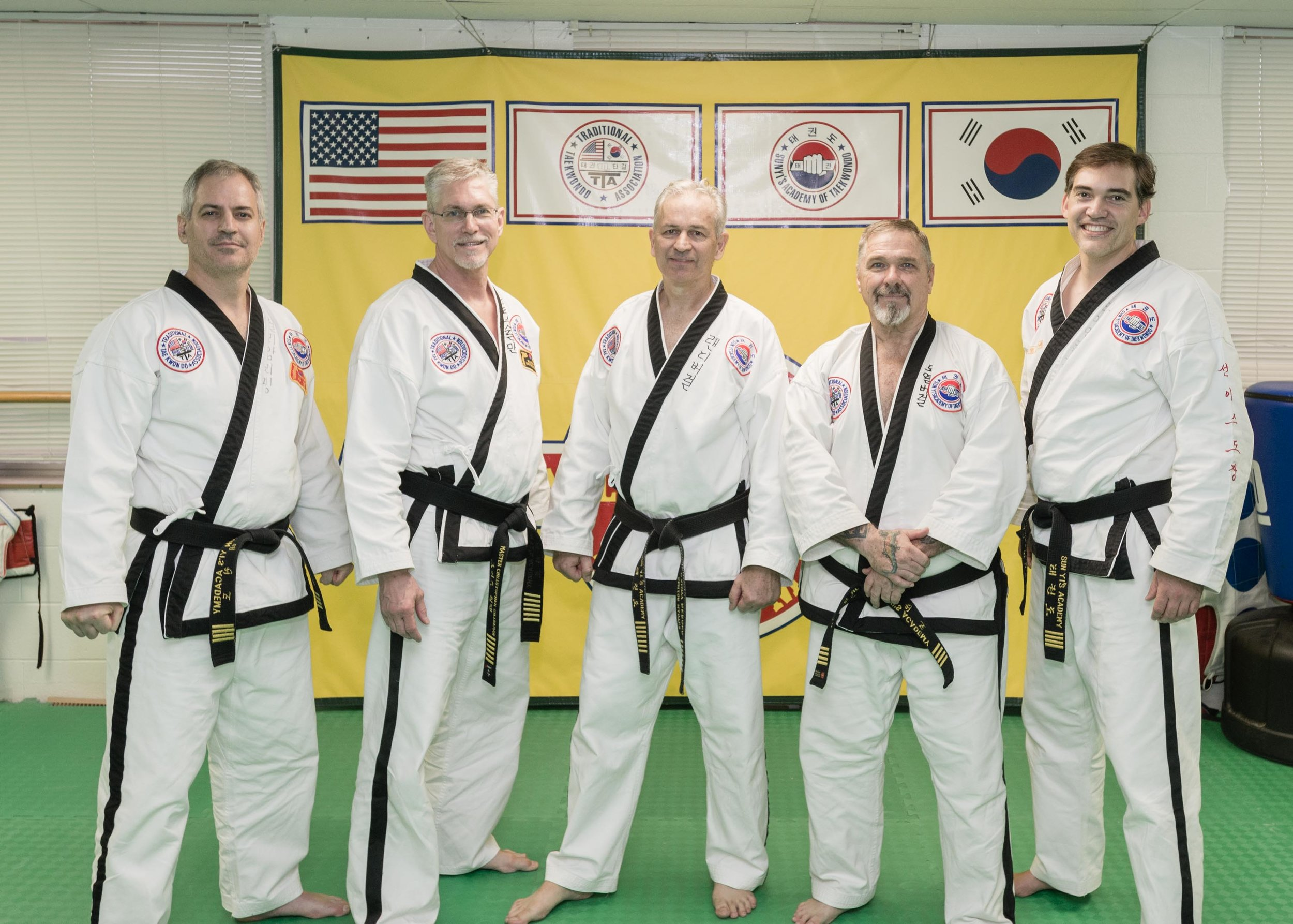 Sun Yi's Academy Black Belts, Raleigh and Topeka