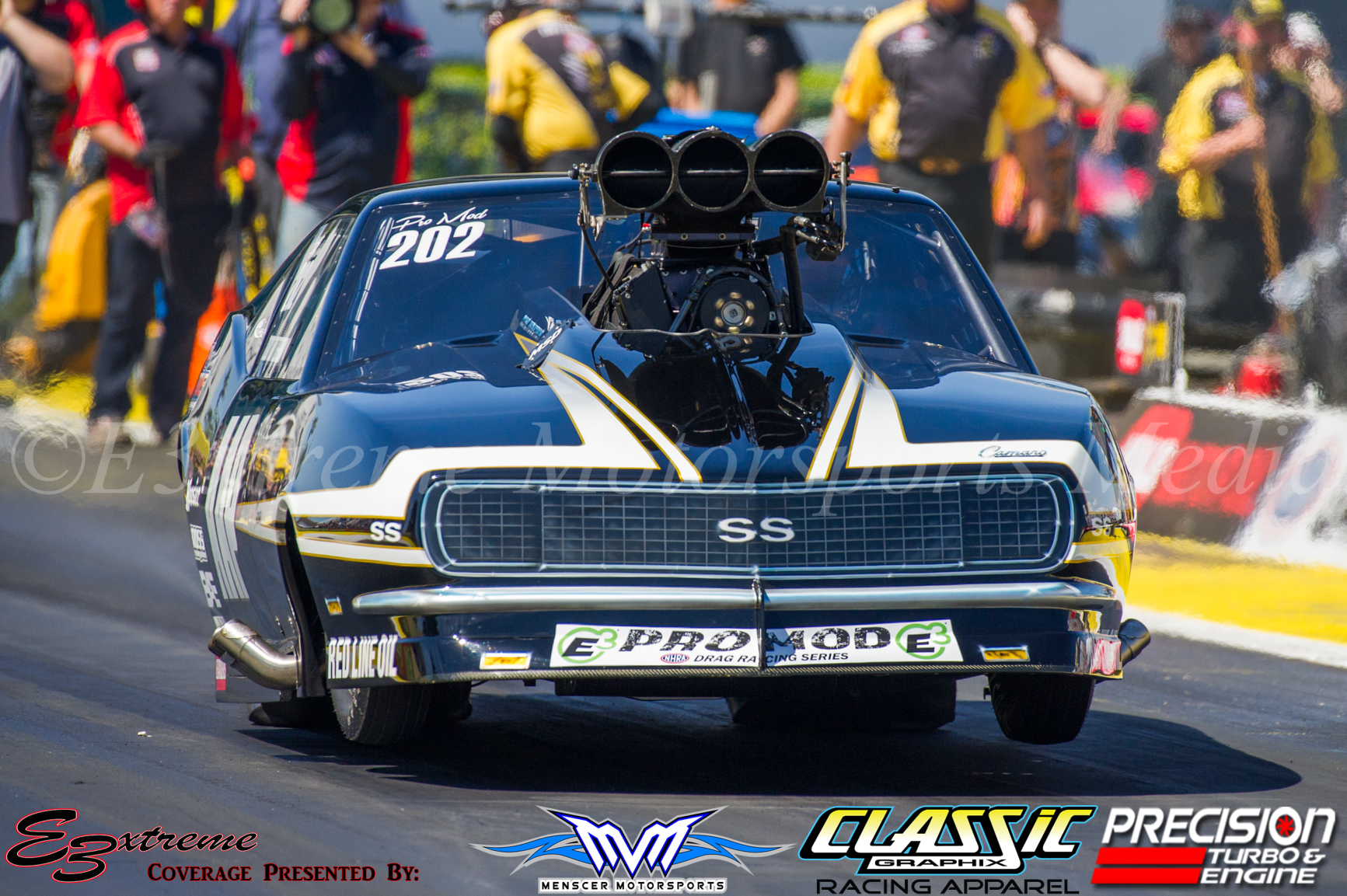 Todd goes wheels up during Friday qualifying at the Gatornationals