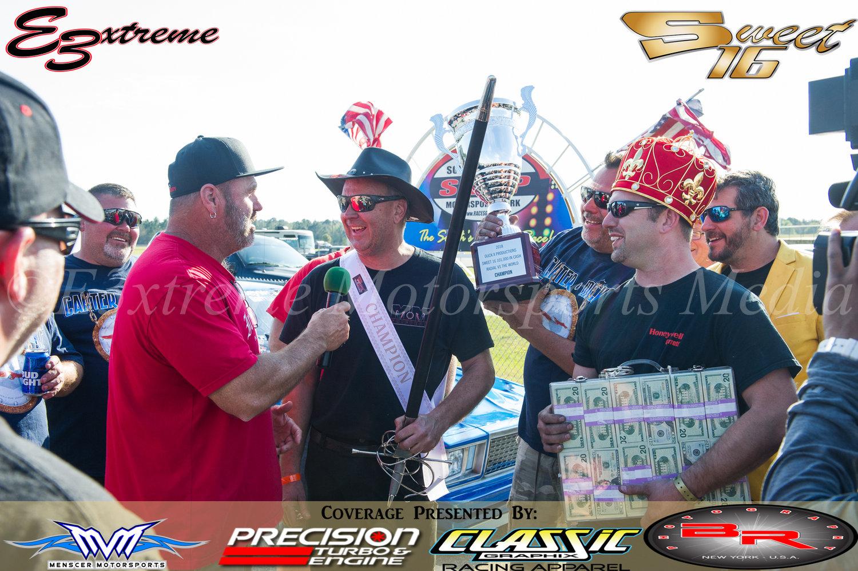 Mark (Sword) and Jason (Cash Money) talk to Lenco Jim after the Win