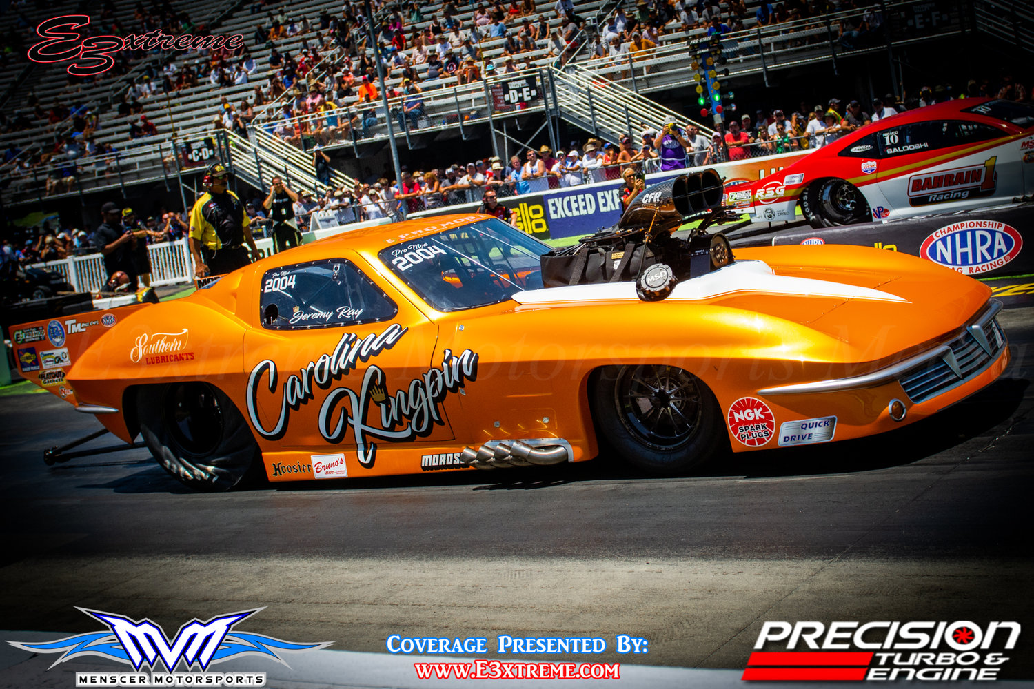 Jeremy Ray crushing it in NHRA