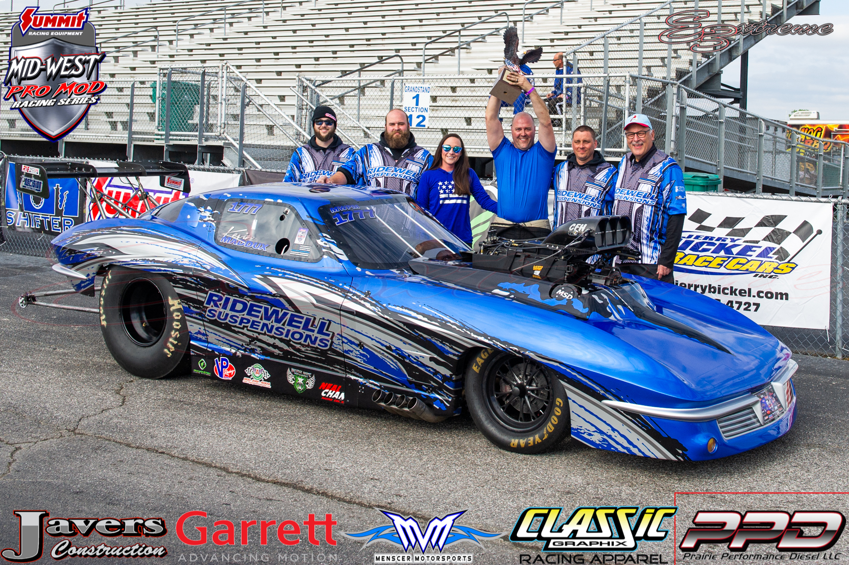 Summit Racing Equipment Pro Mod Winner Kevin Maddux