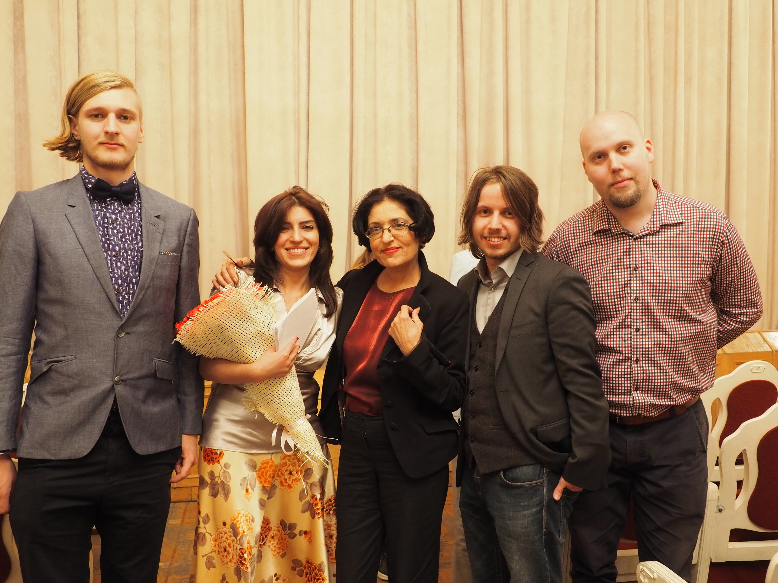 Christian Jilka at Sose International Film Festival 2016 in Yerevan;Armenia