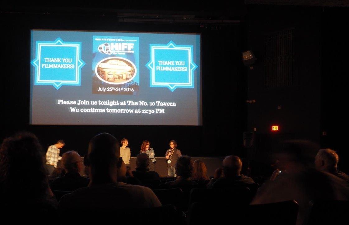 Christian Jilka at SBE's Hamilton International Film Festival 2016 in Hamilton; NY
