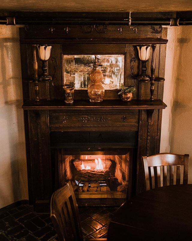 Smoked tenderloin and a cozy fire are on the menu tonight! Happy hour is happening now and live music starts at seven.