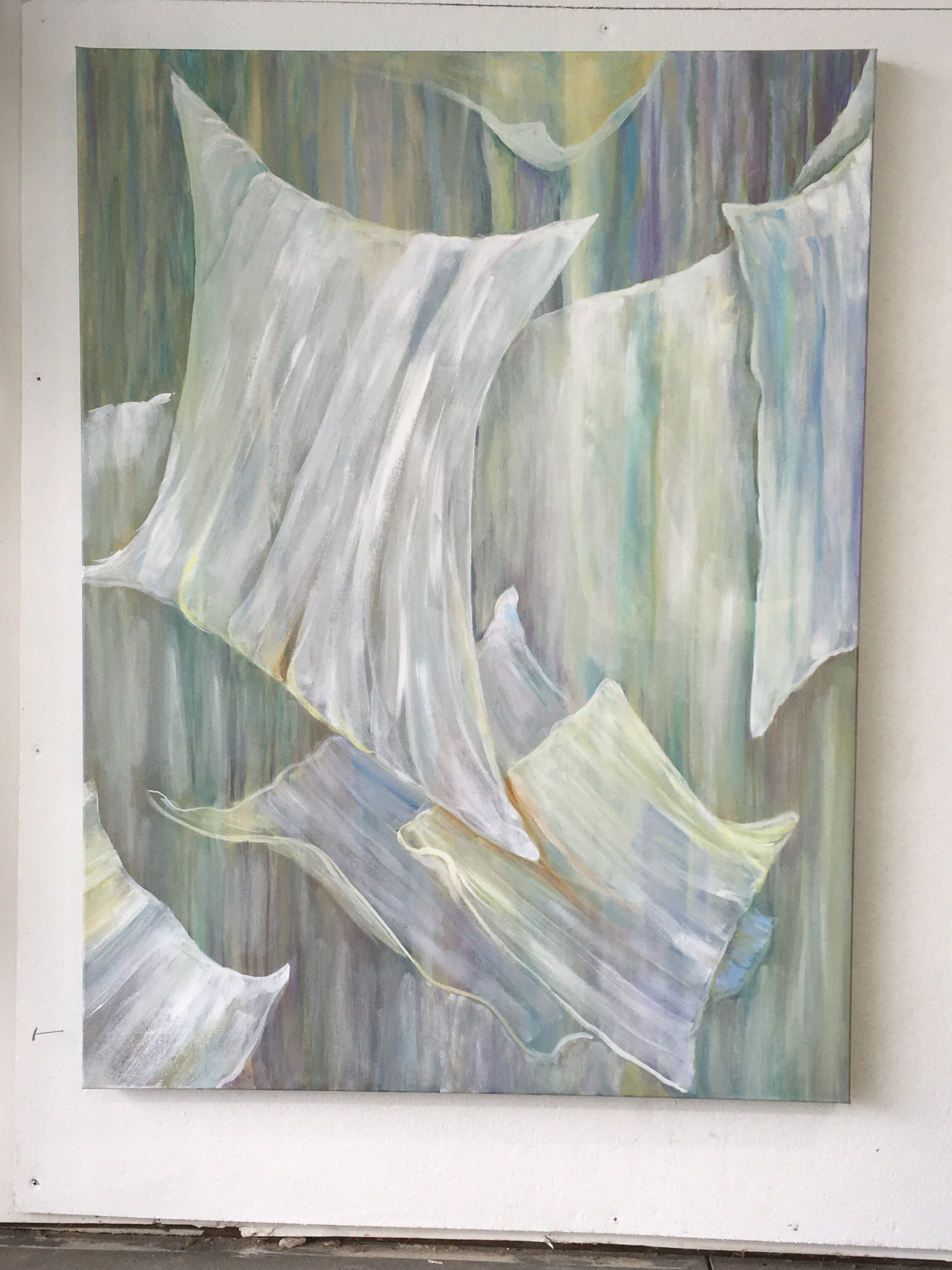 """Connected By The Space Between #3 (30'x40"""") $700.00"""