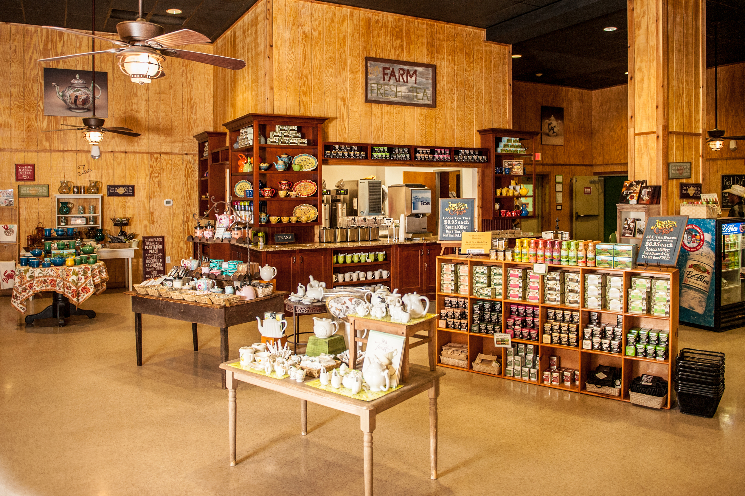 Charleston Tea Plantation's Gift Shop