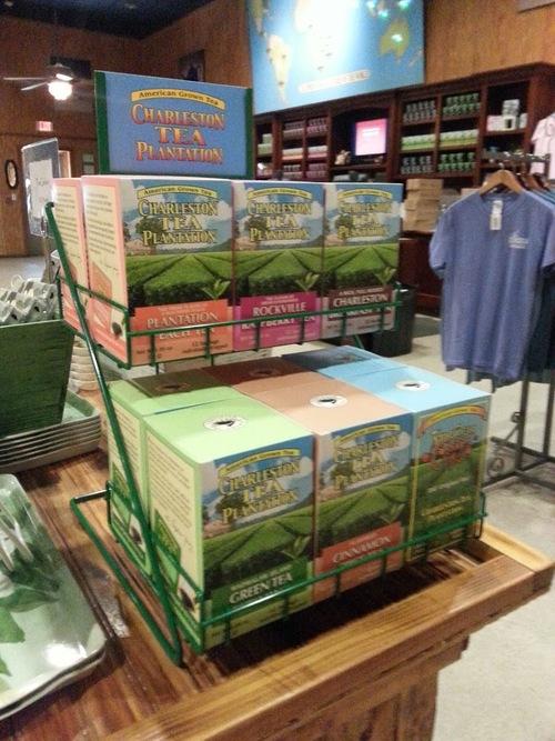 Some of Charleston Tea Plantation's Tea