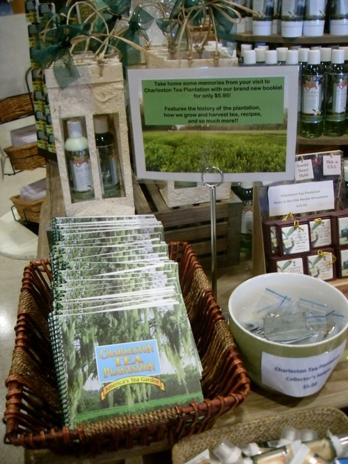 Products for sale in the Gift Shop