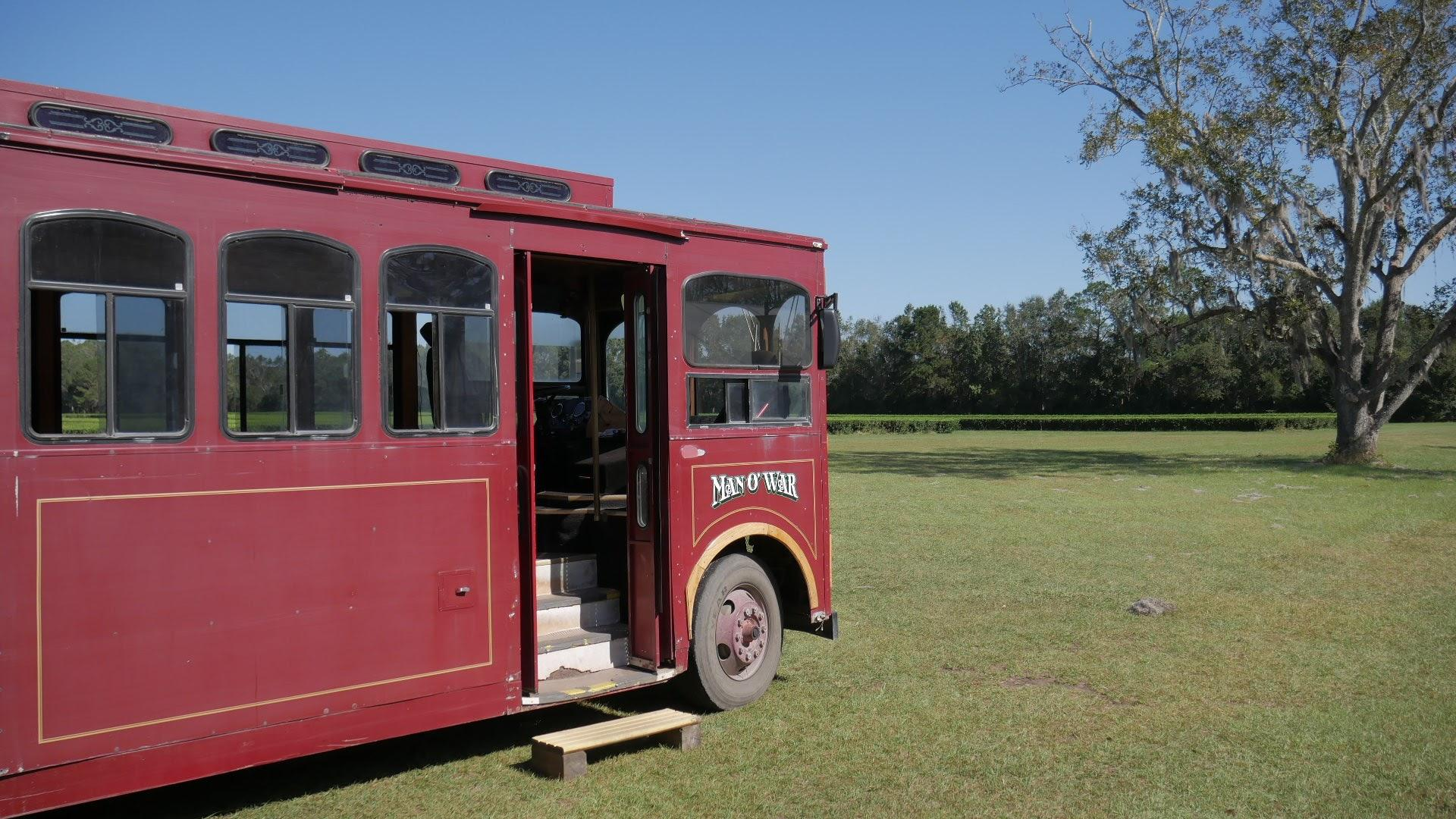 Charleston Tea Plantation Trolley