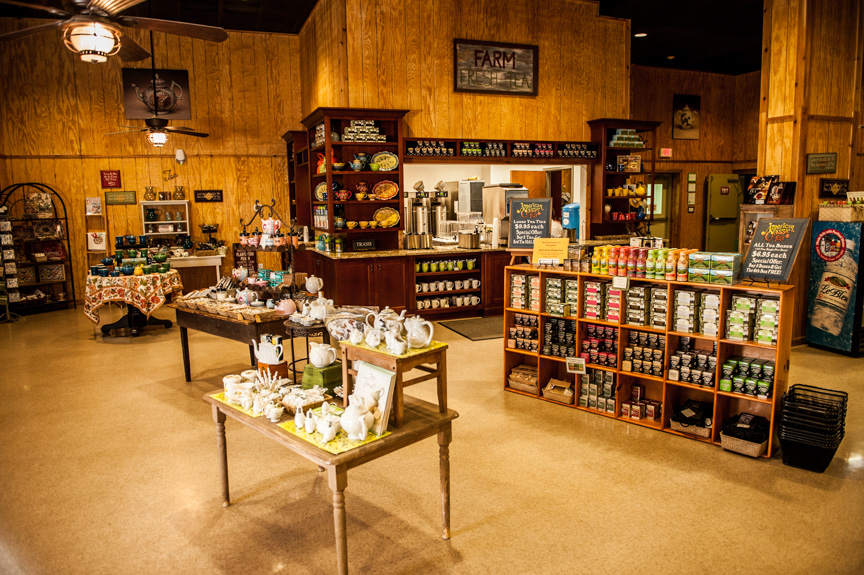 Charleston Tea Plantation Gift Shop