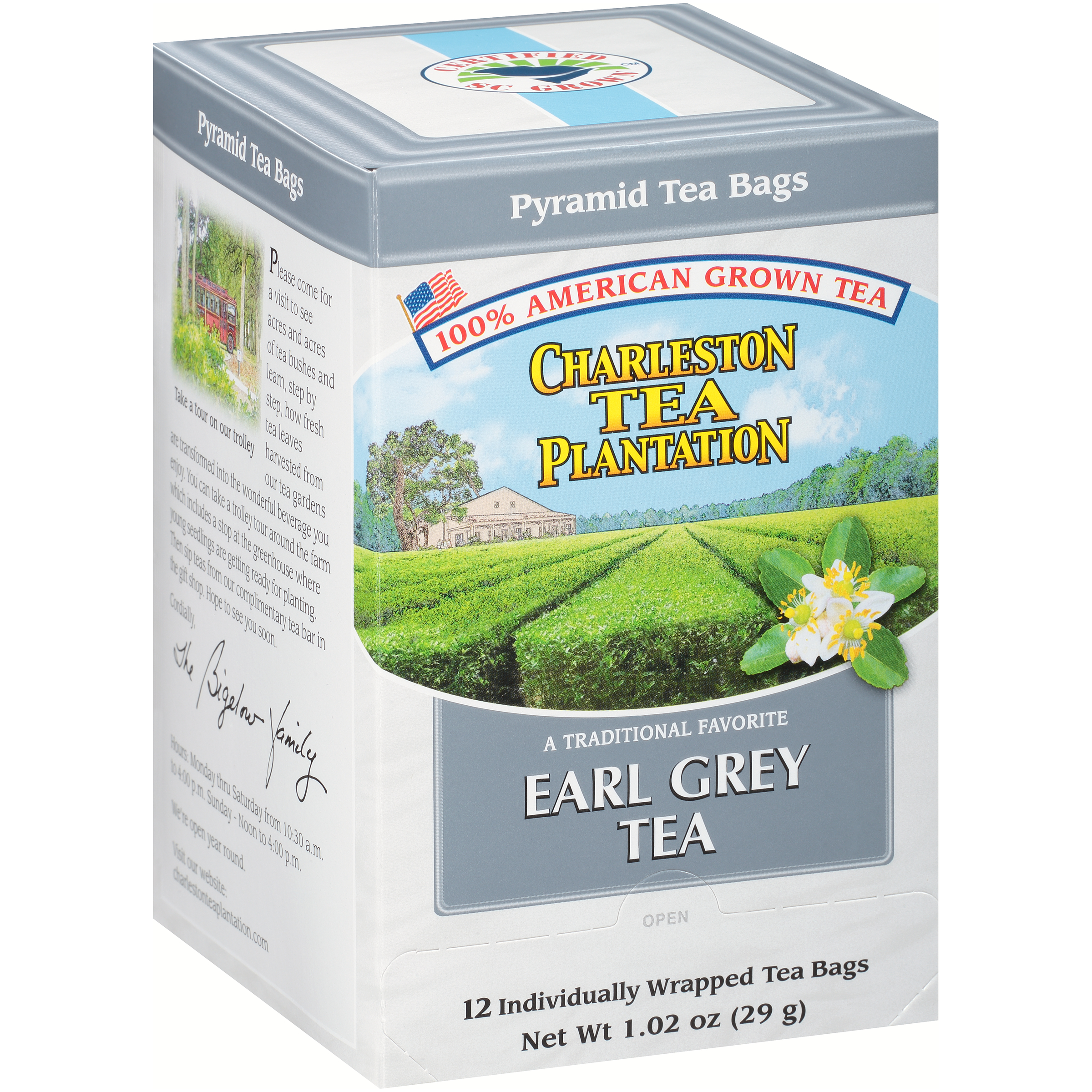 Earl Grey Pyramid Teabags