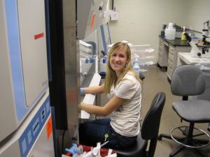 Danielle Heffner, 2010-2013 Medical Student at University of Pittsburg