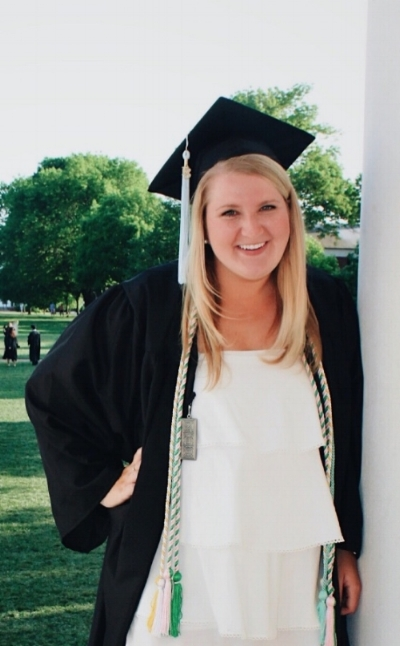 Lucy Rose graduates from UVA Psychology