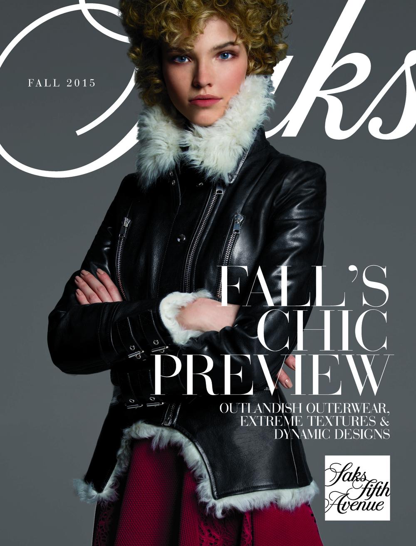 Fifth Avenue Catalog >> Saks Fifth Avenue Pre Fall Catalogue 2015 Tanya Jean Baptiste