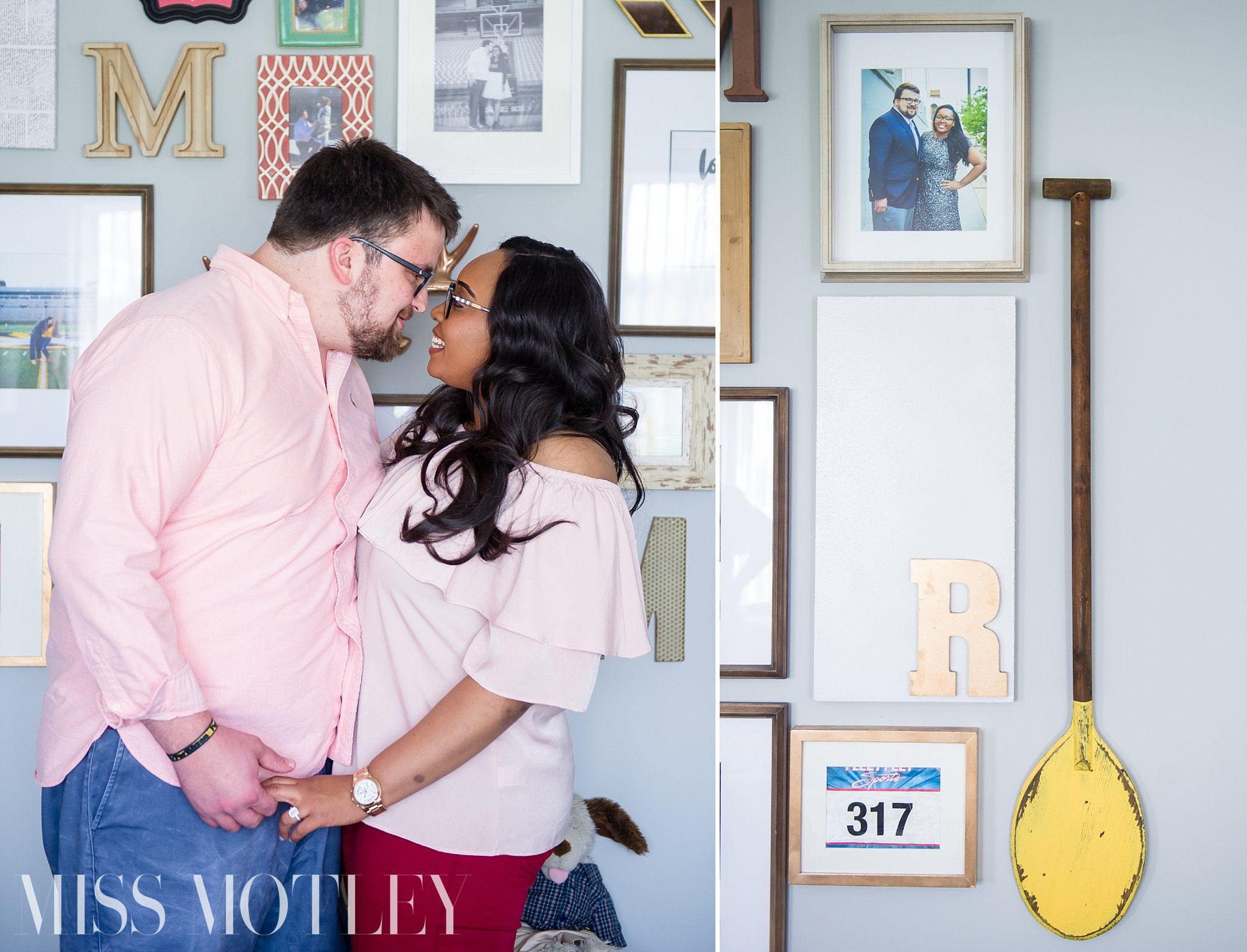 I fell in love with Ryan because he knew all of my flaws & weaknesses and still loved me. I noticed that when I was with him, I was a better me and I didn't want to ever live without the feeling I had when we were together. ~RaSheila
