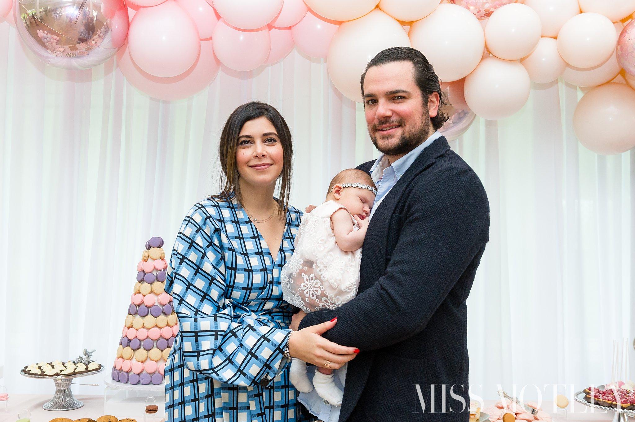 Proud parents, Michael & Nicole Segretto.