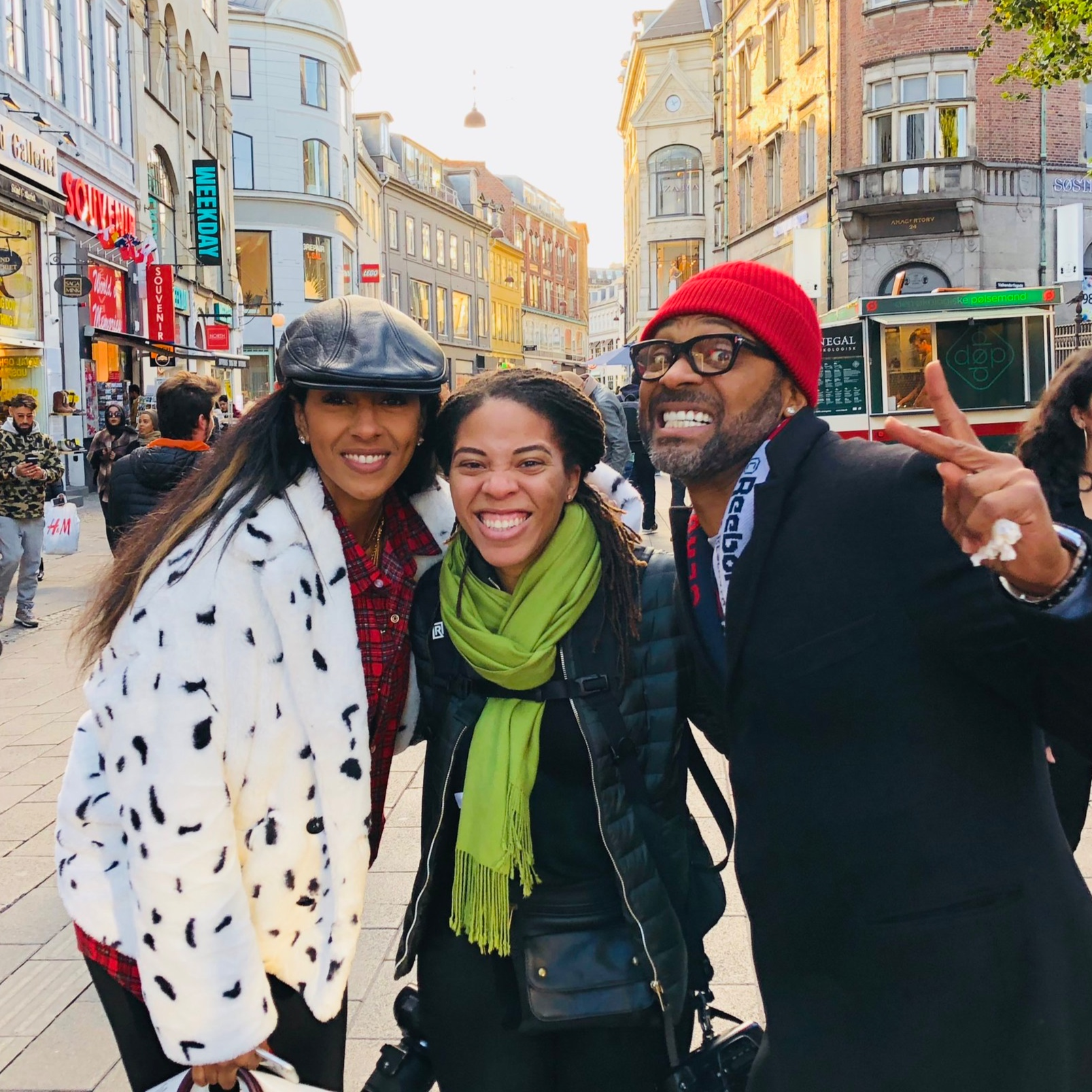 Actor & Comedian Mike Epps and Producer Kyra Robinson-Epps in Copenhagen, Denmark