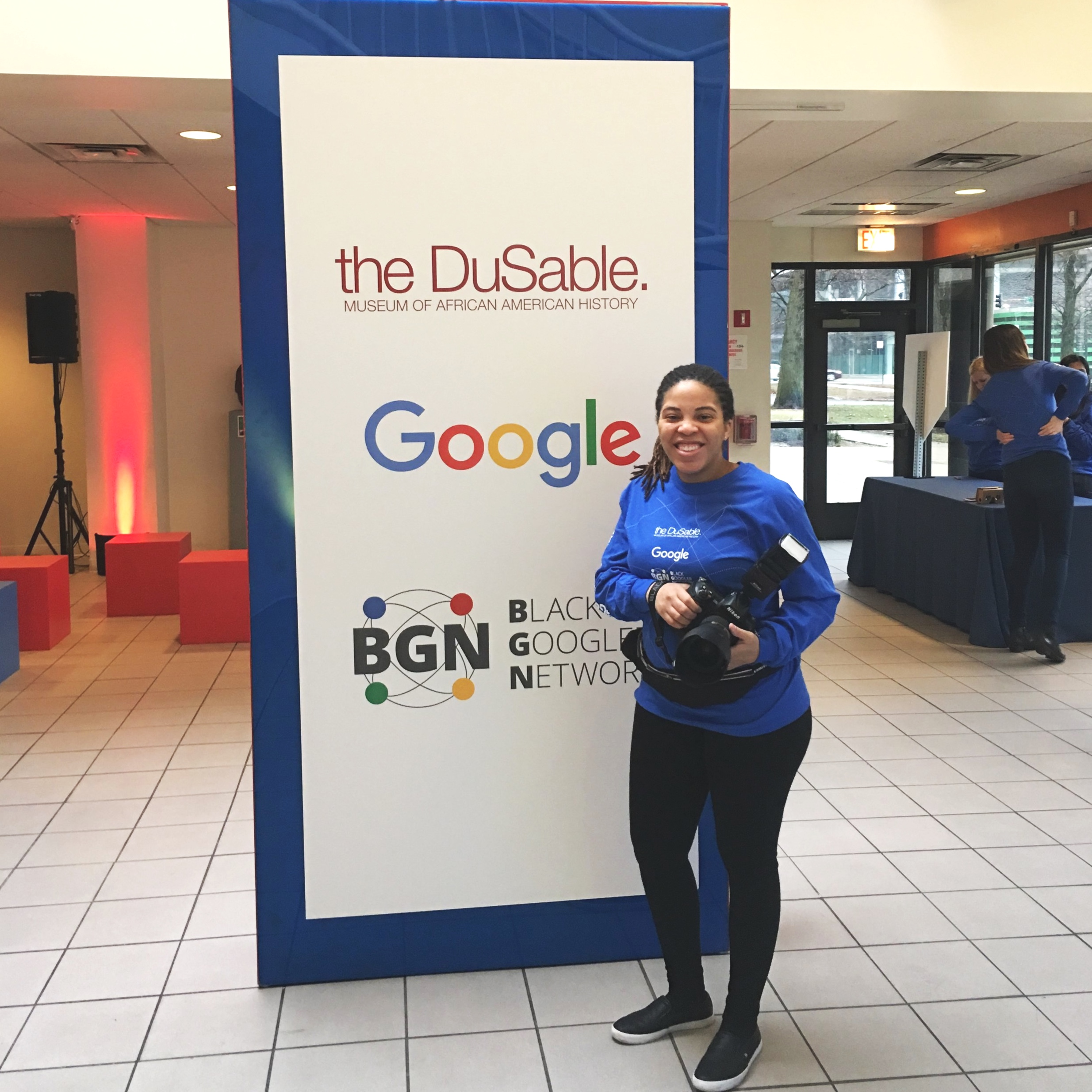 In partnership with Google & The DuSable Museum