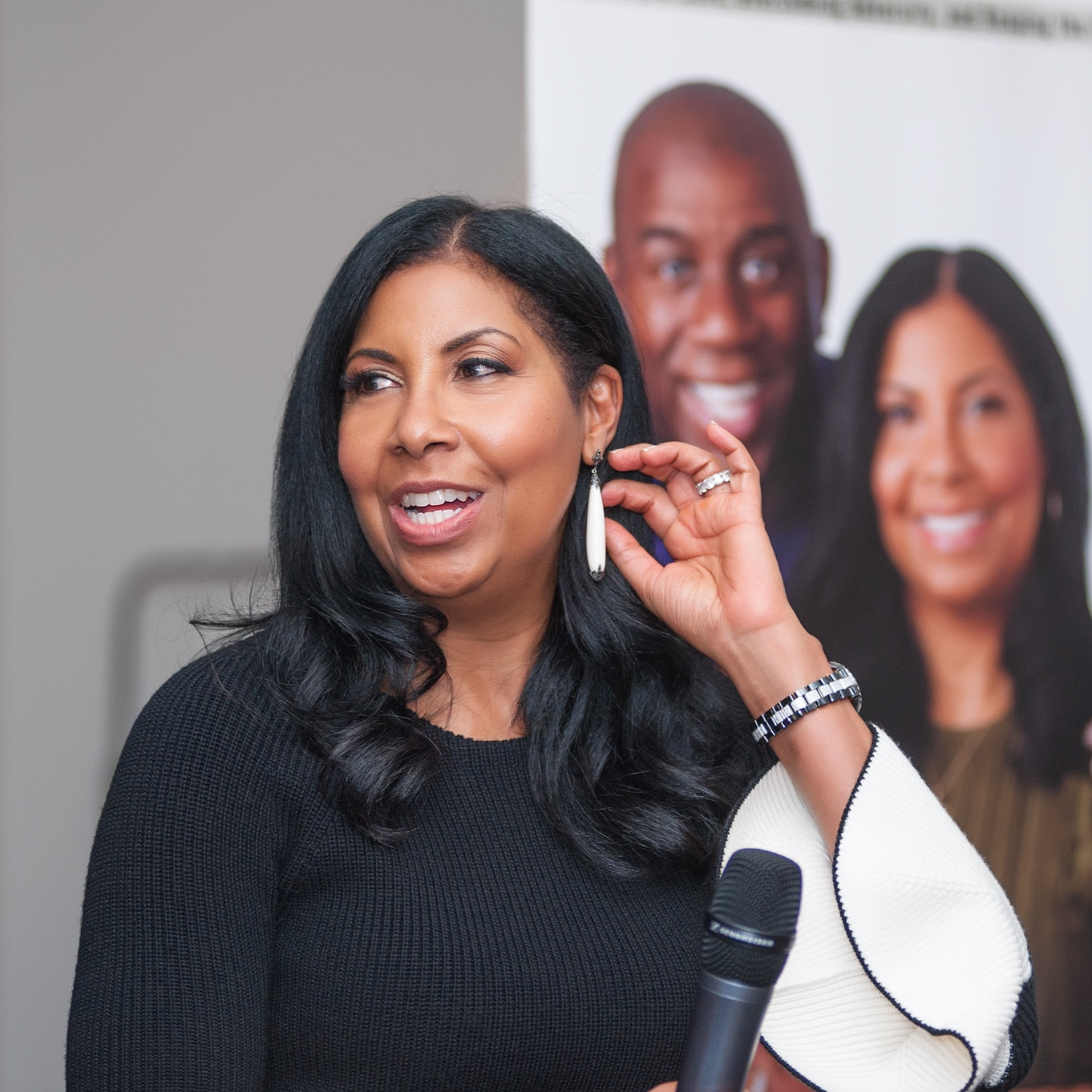 Cookie Johnson, wife of NBA Hall of Famer, Magic Johnson