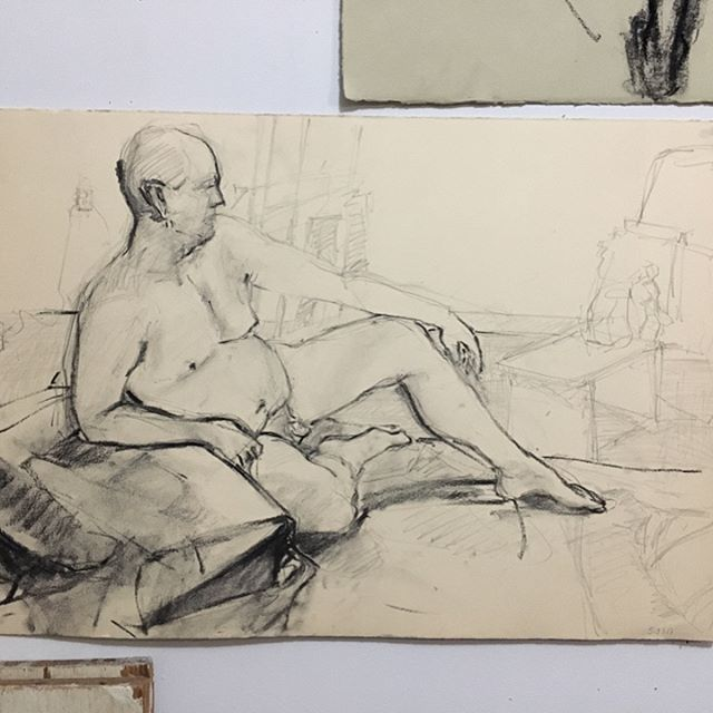 #drawing #lifedrawing #figure @canvasartspace