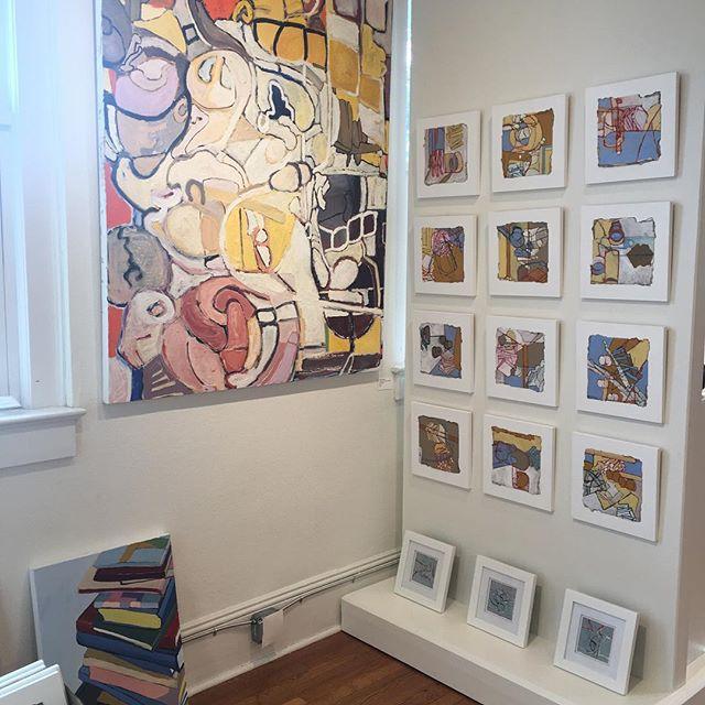@galleryflatrock #artistsexposed #hendersonvillenc #hendersonvillencart