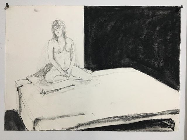 #figuredrawing #graphite #charcoal