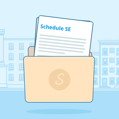Schedule SE   This form helps you determine how much self-employment tax you'll pay.   Learn more.