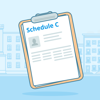 Schedule C   The form you use to add expenses (deductions) to determine your business profit or loss.   Learn more.
