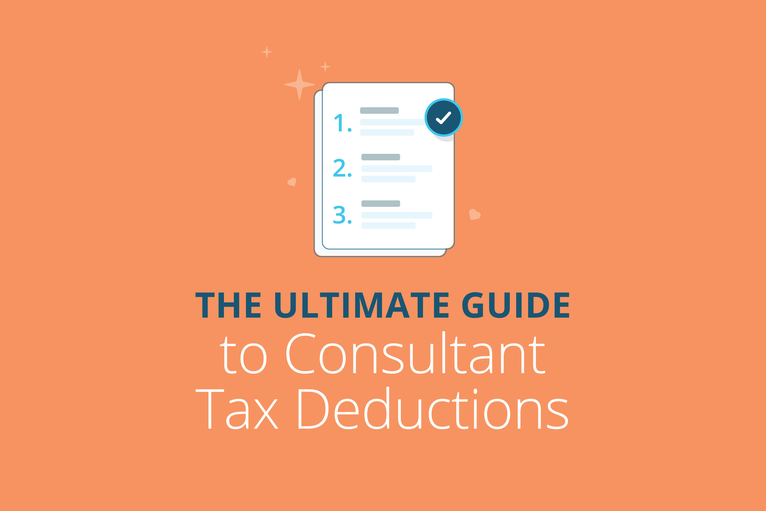 consultant tax deductions