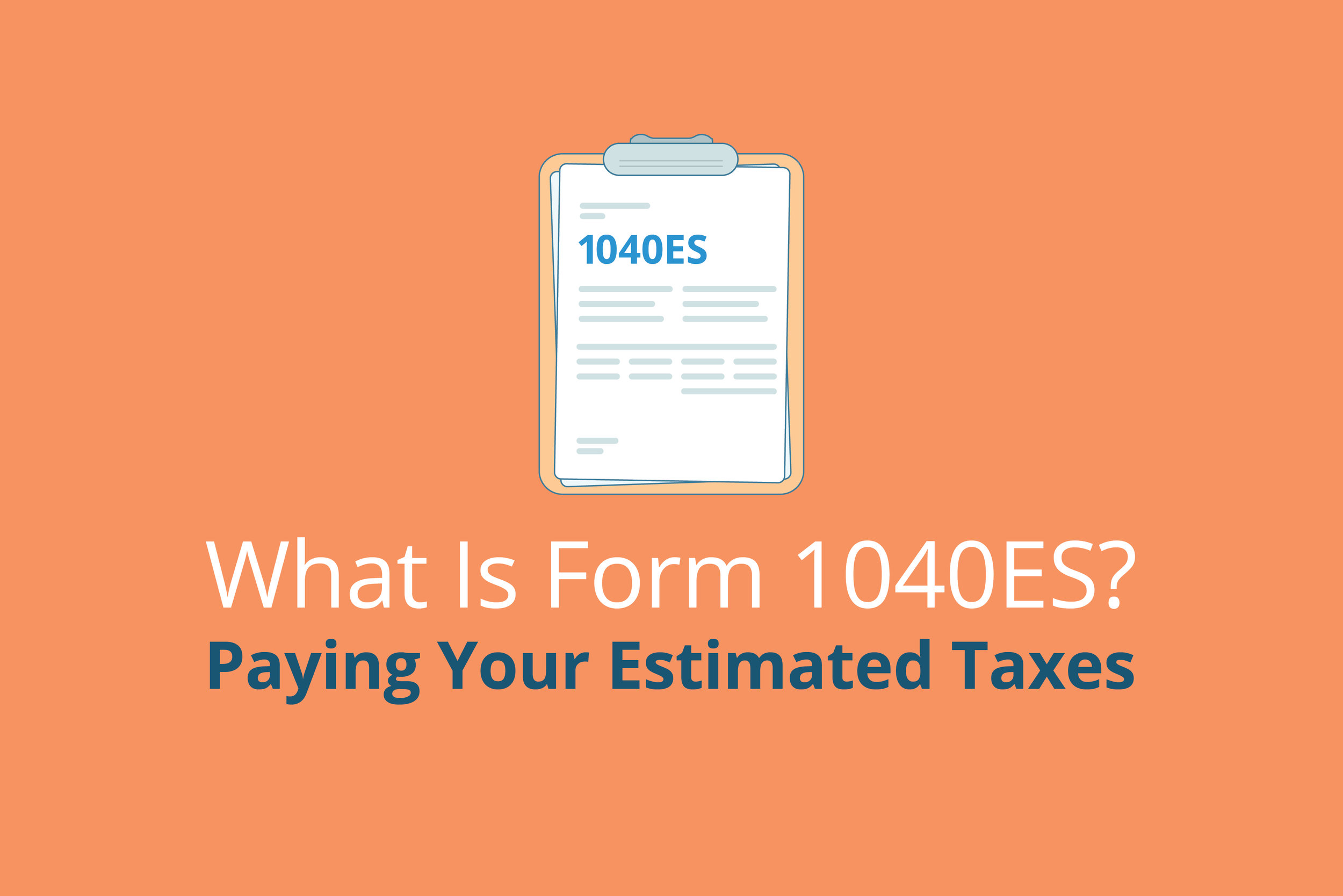 what is form 1040es