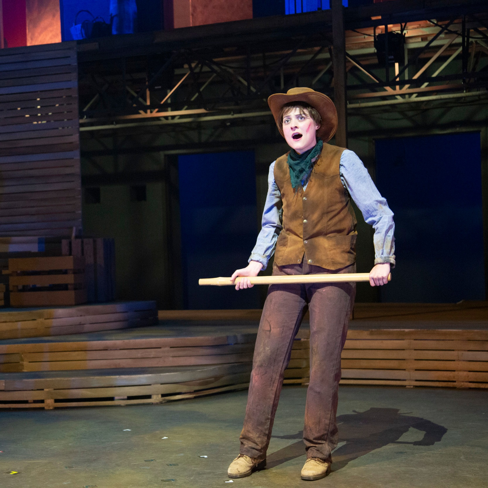 THE BALLAD OF LITTLE JOMusic by Mike ReidLyrics by Sarah Schlesinger Book by Mike Reid, Sarah Schlesinger, and John DiasWaterTower Theatre - Directed by Kelsey Leigh ErviMusic Directed by Vonda K. BowlingChoreographed by Joshua L. PeughScenic Design by Clare Floyd DeVriesLighting Design by Aaron JohansenCostume Design by Amy Pedigo-OttoSound Design by Mark HowardPhotos by Jason Anderson