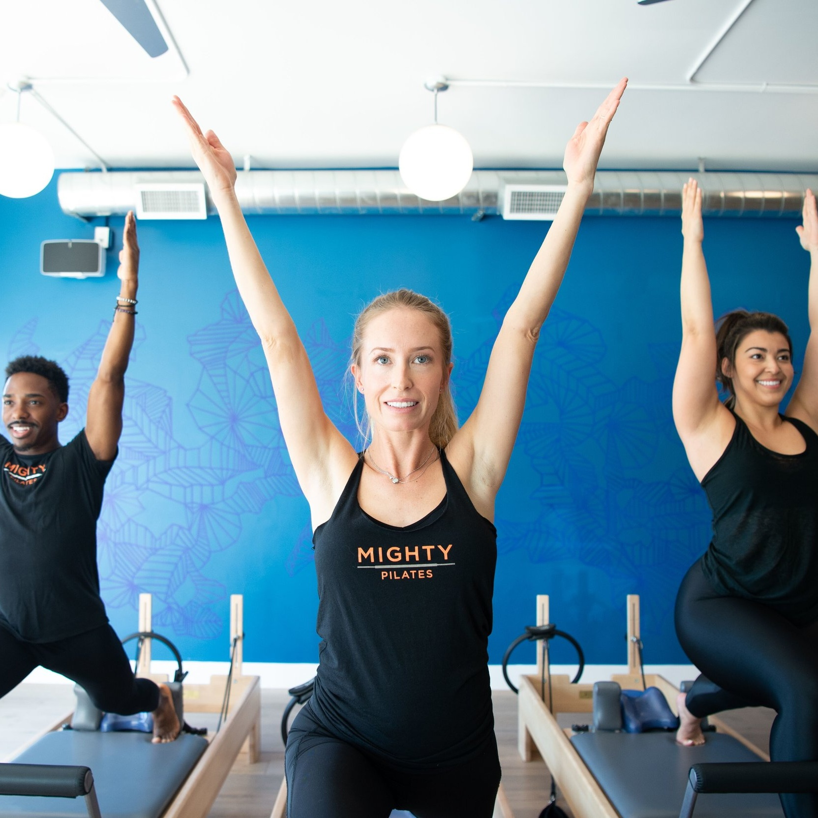 Series of private Pilates classes for local influencers and media