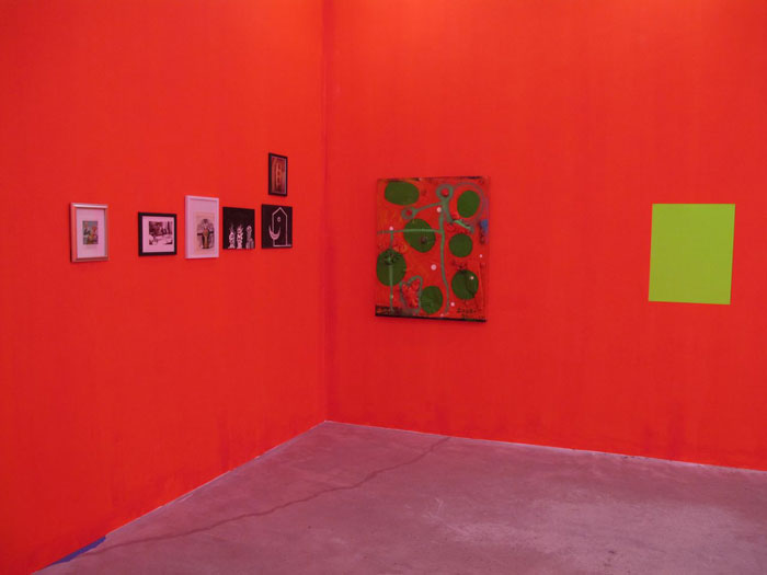 Installation view,  Chris Martin , STL, NY, 2012