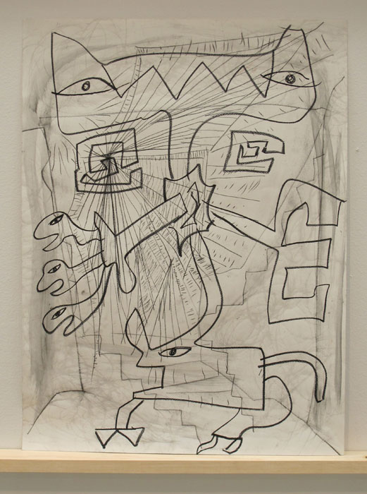 Aidas Bareikis and Bill Saylor, Untitled , 2012,mixed media,24 x 18 in