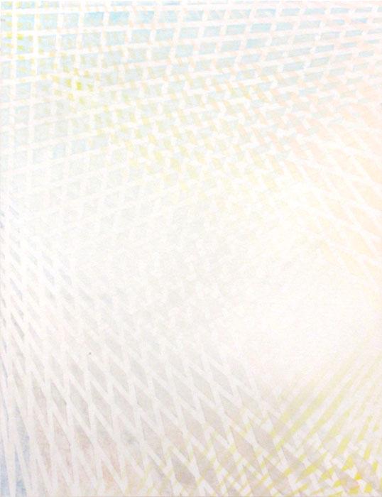 Benny Merris, ON A HEAD ON AHEAD , 2012,acrylic on panel,10 X 8 in