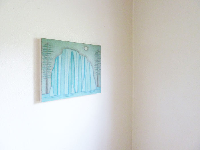 Installation view, Bred and Fed , STL, Iowa City, 2012