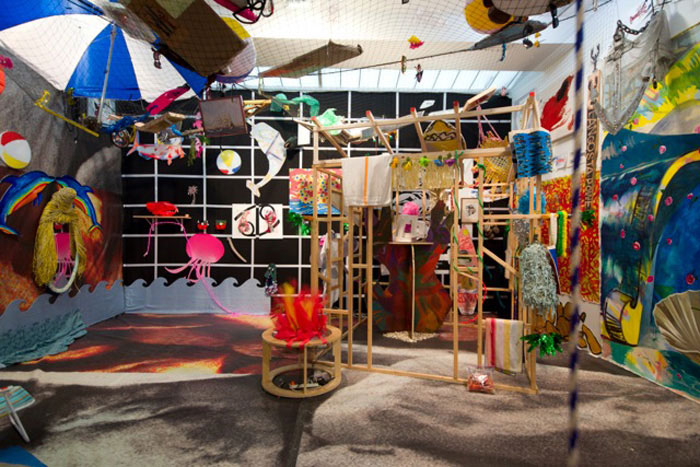 Installation view, Can't Stop Rock Lobster , STL, NY, 2012