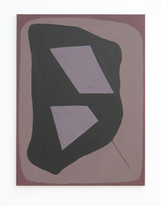 Max Warsh, Floodplain , 2011,acrylic on vellum,40 x 30 in