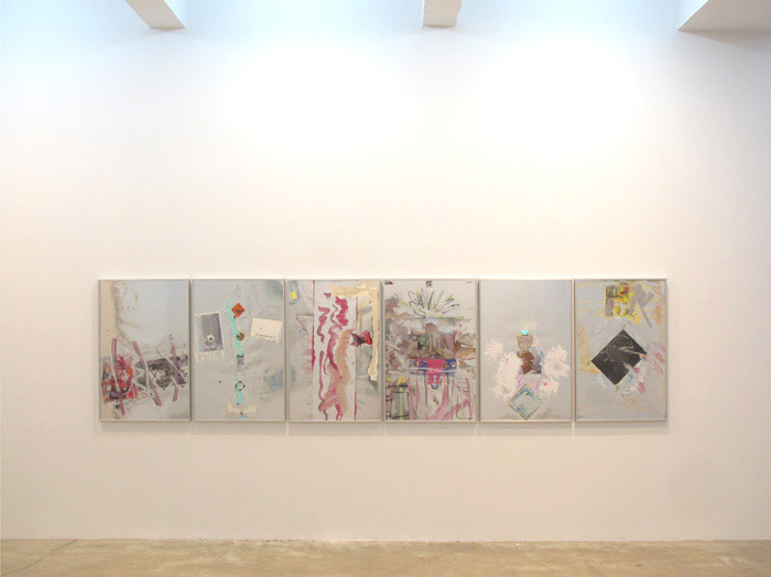 Installation view, Leif Ritchey , STL, NY, 2012