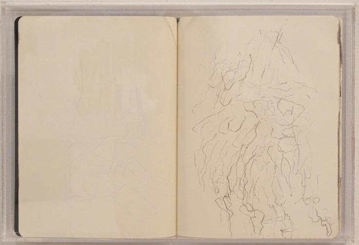Christofer Amel, New Cross Gate , 2012,sketch book,10 3/4 x 15 3/4 in